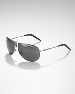 Carrera Gipsy Metal Aviators, Dark Ruthenium
