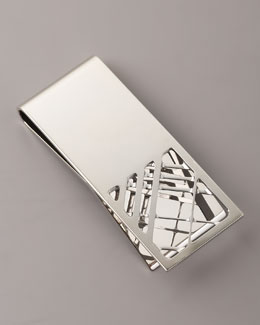 Burberry Check Money Clip