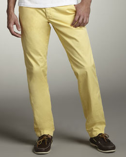 Original Paperbacks Bellmont Slim Pants, Yellow