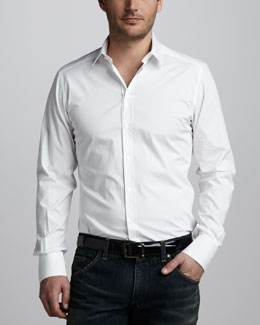 Dolce & Gabbana Stretch-Poplin Shirt