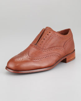 Florsheim by Duckie Brown The Laceless Wing-Tip, Cognac