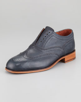 Florsheim by Duckie Brown The Laceless Wing-Tip, Indigo