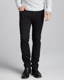 Joe's Jeans Super Slim Black Jeans