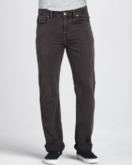 Robert Graham Denim Southpaw Jeans, Brown