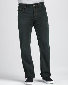 Robert Graham Denim Southpaw Jeans, Pine