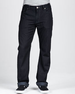 Robert Graham Denim Dark Resin Jeans