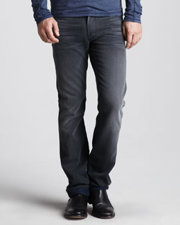 7 For All Mankind Slimmy Gray Harbor Jeans