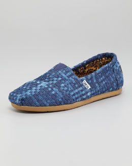 TOMS Woven Denim Slip-On