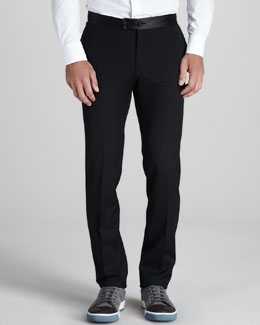 Lanvin Satin-Waist Pants