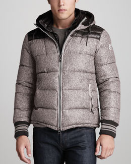 Moncler Eusebe Hooded Bomber Jacket