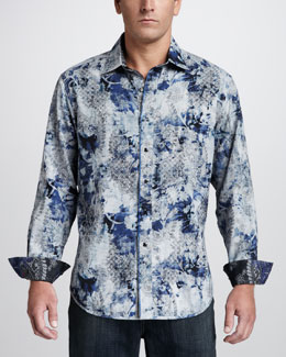 Robert Graham Tahoe Reversible Sport Shirt
