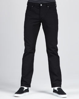 Levi's Made & Crafted Ruler Black Overdye Jeans