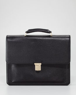 Tom Ford Gusset Flap Briefcase