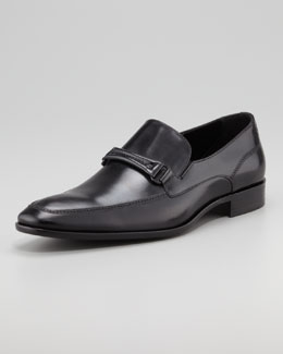Hugo Boss Carmino Bit Loafer, Black