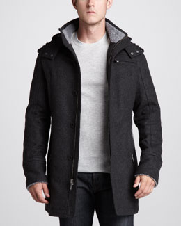 UGG Australia Montague Shearling-Trim Jacket