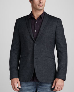 Theory Wool-Cotton Blazer
