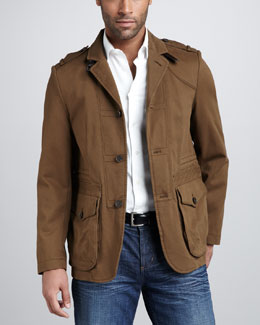Hugo Boss Short Army Jacket
