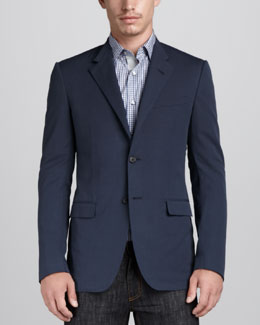 Lanvin Evolution Cut-Collar Jacket