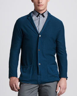 Lanvin Three-Button Cashmere Jacket