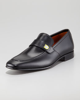 Salvatore Ferragamo Tribune Gancini Loafer, Black