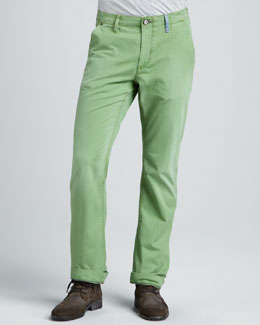 Robert Graham Denim Yates Classic Jeans, Green