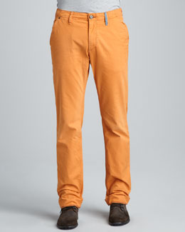 Robert Graham Denim Yates Classic Jeans, Orange