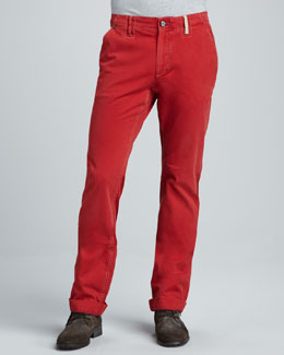 Robert Graham Denim Yates Classic Jeans, Red