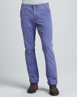 Robert Graham Denim Yates Classic Jeans, Purple