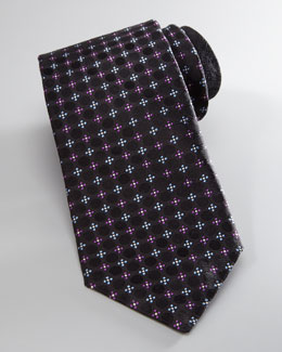 Robert Graham Floral/Dot Silk Tie