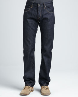 Rag & Bone Dark-Rinse Selvedge Jeans
