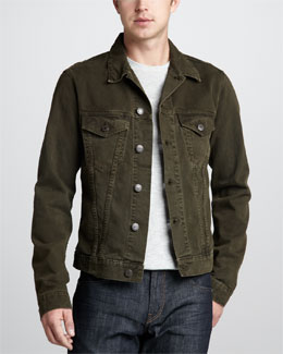 J Brand Jeans Owen Vintage Grove Denim Jacket