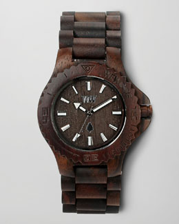 WeWood Watches Wooden Watch, Chocolate