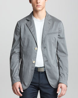 Giorgio Armani Deconstructed Jacket