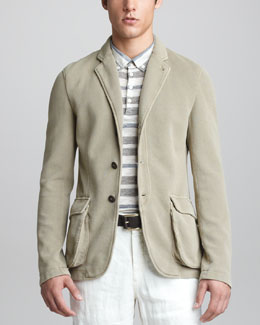 Armani Collezioni Soft Three-Two Jacket