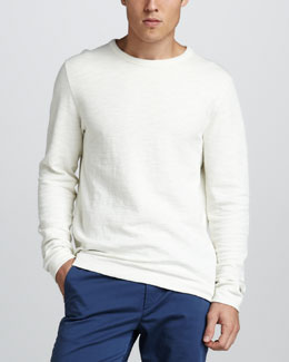 Theory Slub-Knit Sweatshirt