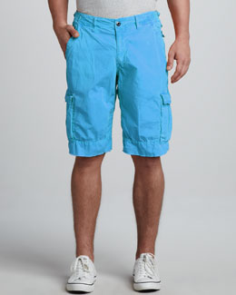 Original Paperbacks Oxnard Cargo Shorts, Blue Jay