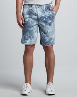 Original Paperbacks Belmar Remix Camo Shorts