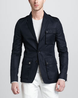 Belstaff Bradfield Military Blazer
