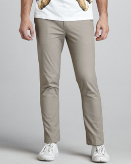 McQ Alexander McQueen Slim Cotton Pants