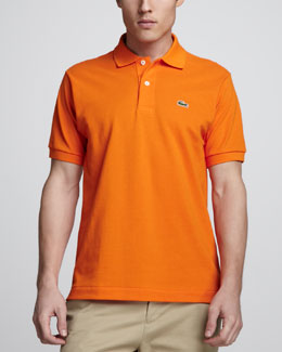Lacoste Classic Pique Polo, Orange Tree