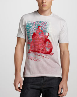 Robert Graham Motorcycle Graphic Tee
