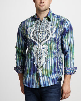 Robert Graham Limited Edition Bluegrass Sport Shirt