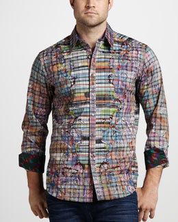 Robert Graham Limited Edition Deckman Sport Shirt