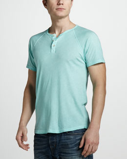 Gypsy 05 Short-Sleeve Raglan Henley