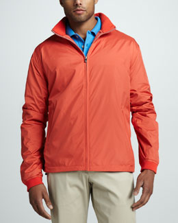 Peter Millar Rally Lightweight Jacket, Pomegranate