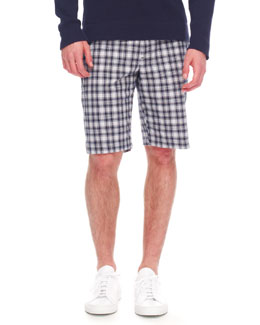 MICHAEL KORS Plaid Shorts
