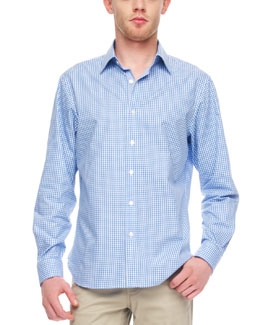 MICHAEL KORS  Grayson Gingham Shirt