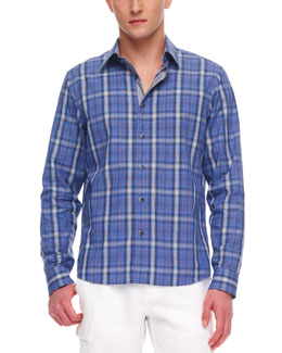 MICHAEL KORS Donovan Check Shirt