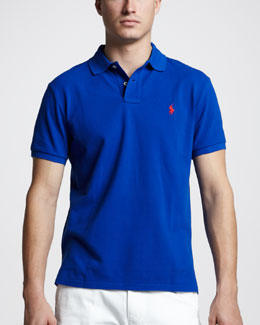 Polo Ralph Lauren Custom-Fit Polo, Pacific Royal