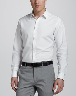 Theory Zack Sport Shirt, White